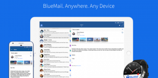 bluemail email client linux