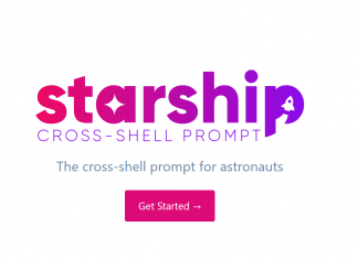 starship linux prompt