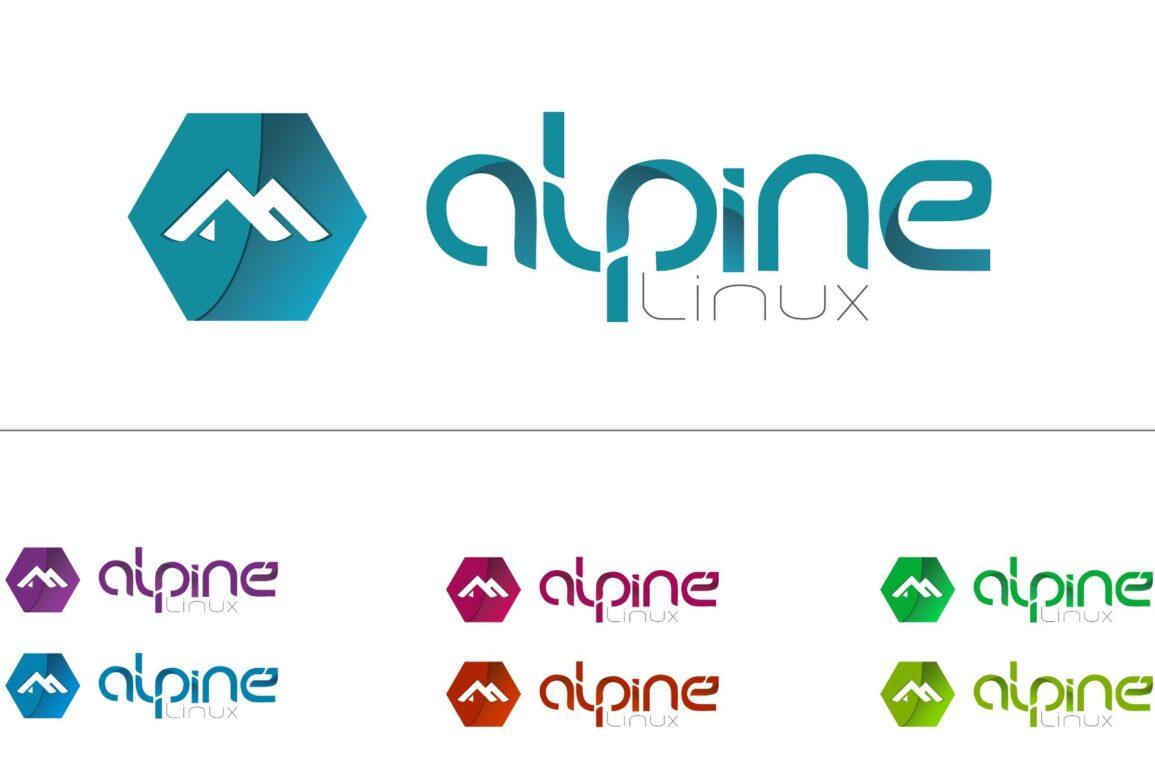 alpine linux logo