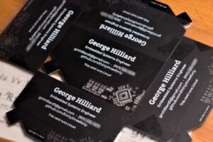 linux business card 1