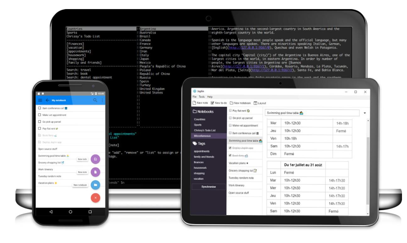 joplin open source app
