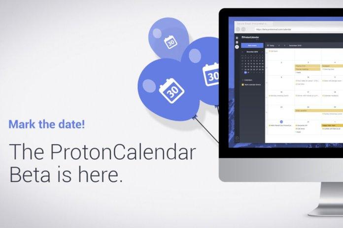 protonmail calendario
