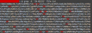 grep sysadmin regex linux