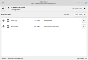 linux mint 20 warpinator