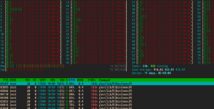 linux processi