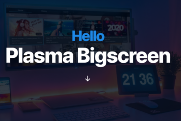 plasma bigscreen kde