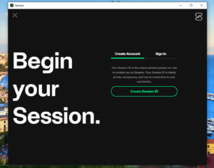 session messenger blockchain
