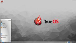 trueos bsd desktop