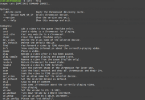 catt chromecast open source