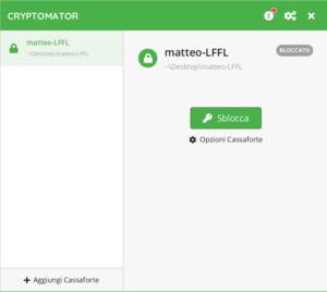 cryptomator 1.5.0 vault