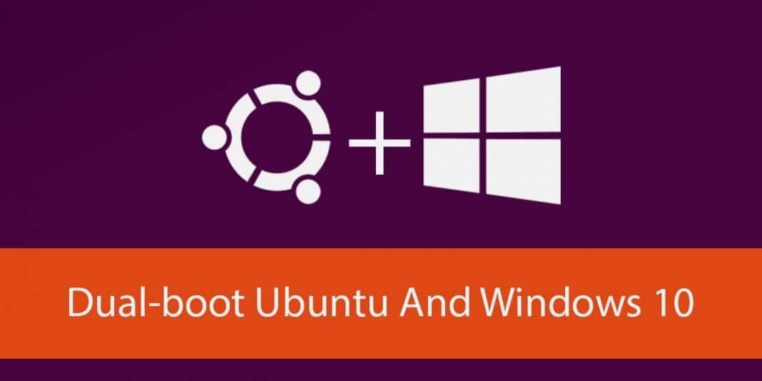 dual boot ubuntu windows