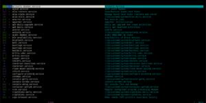 linux chkservice