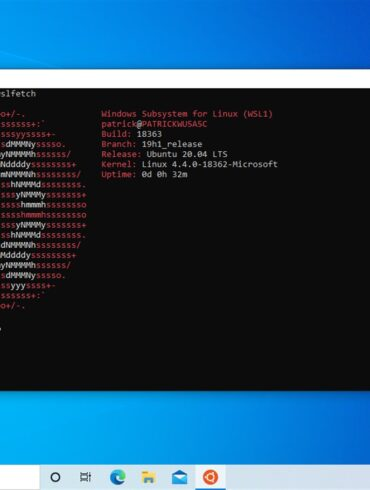 ubuntu 20.04 lts windows 10 microsoft store
