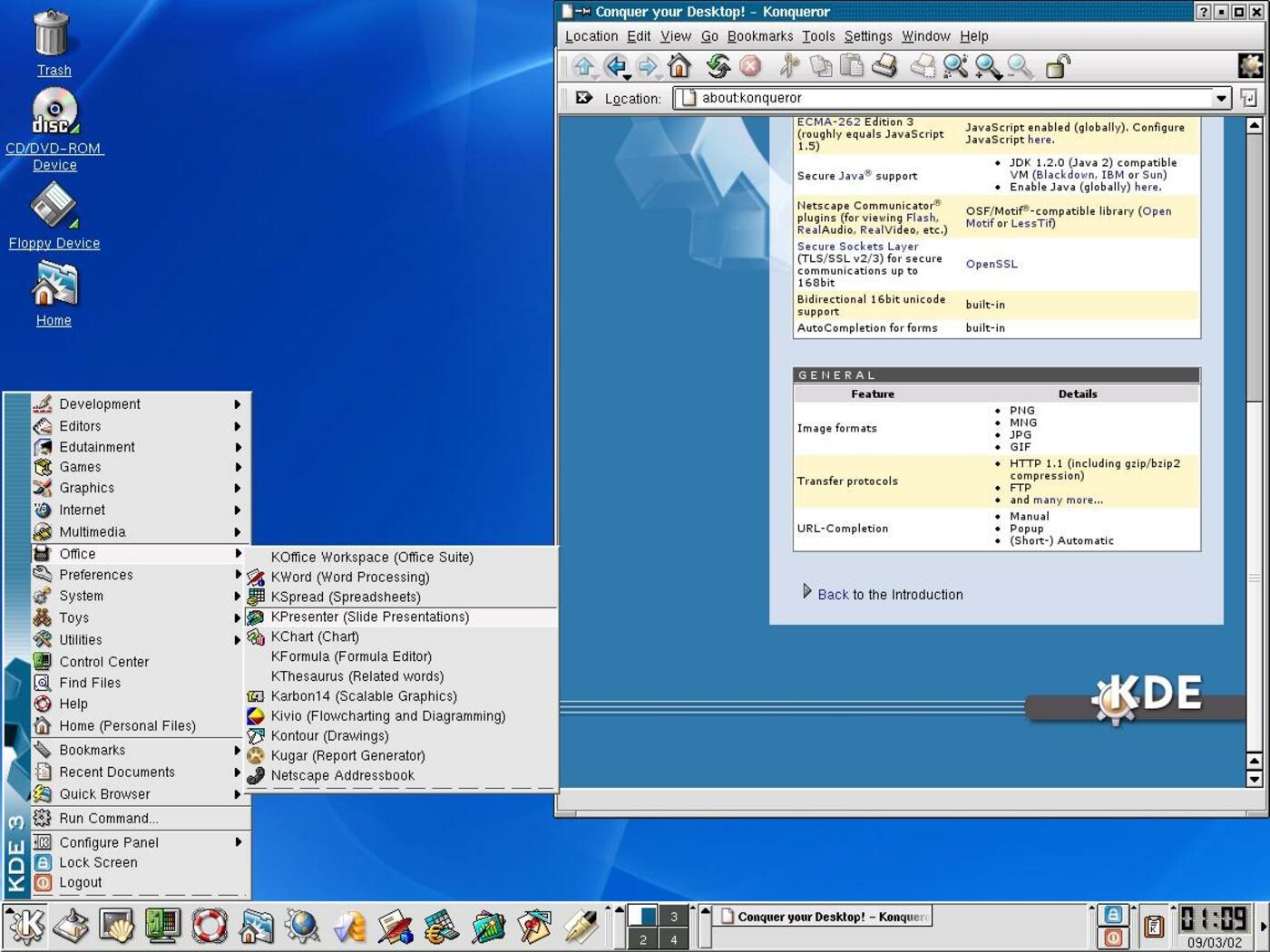 KDE 3