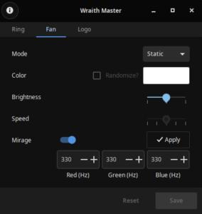 amd wraith master