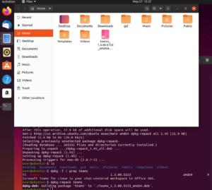 dpkg-repack linux teams debian
