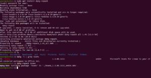 dpkg-repack linux teams