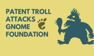 gnome foundation troll shotwell rothschild