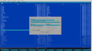 gnu/linux cli mc
