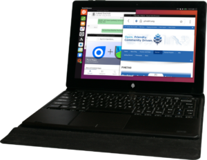 pinetab pine64 linux tablet ubuntu touch