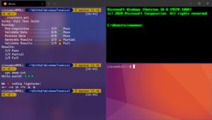 microsoft windows terminal open source build 2020