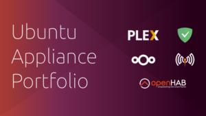 Ubuntu appliance portfolio