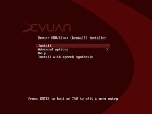 devuan debian gnu/linux
