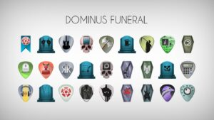 dominus funeral icon theme gnu/linux