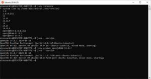 jenv utilitycli java gnu/linux