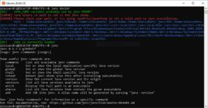 jenv tool cli java gnu/linux
