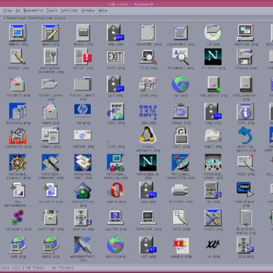 icon theme gnu/linux