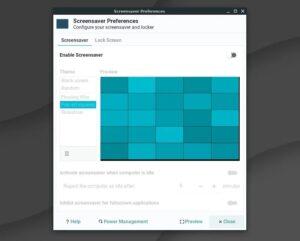 linux lite screensaver