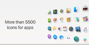 mojave icon theme gnu/linux