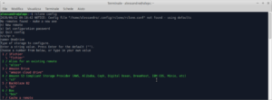 rclone onedrive config file