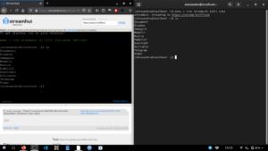 streamhut open source terminale