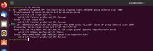 ubuntu 20.04 indirizzi ip