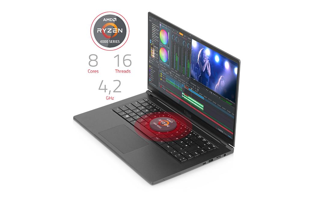 tuxedo computers pulse 15