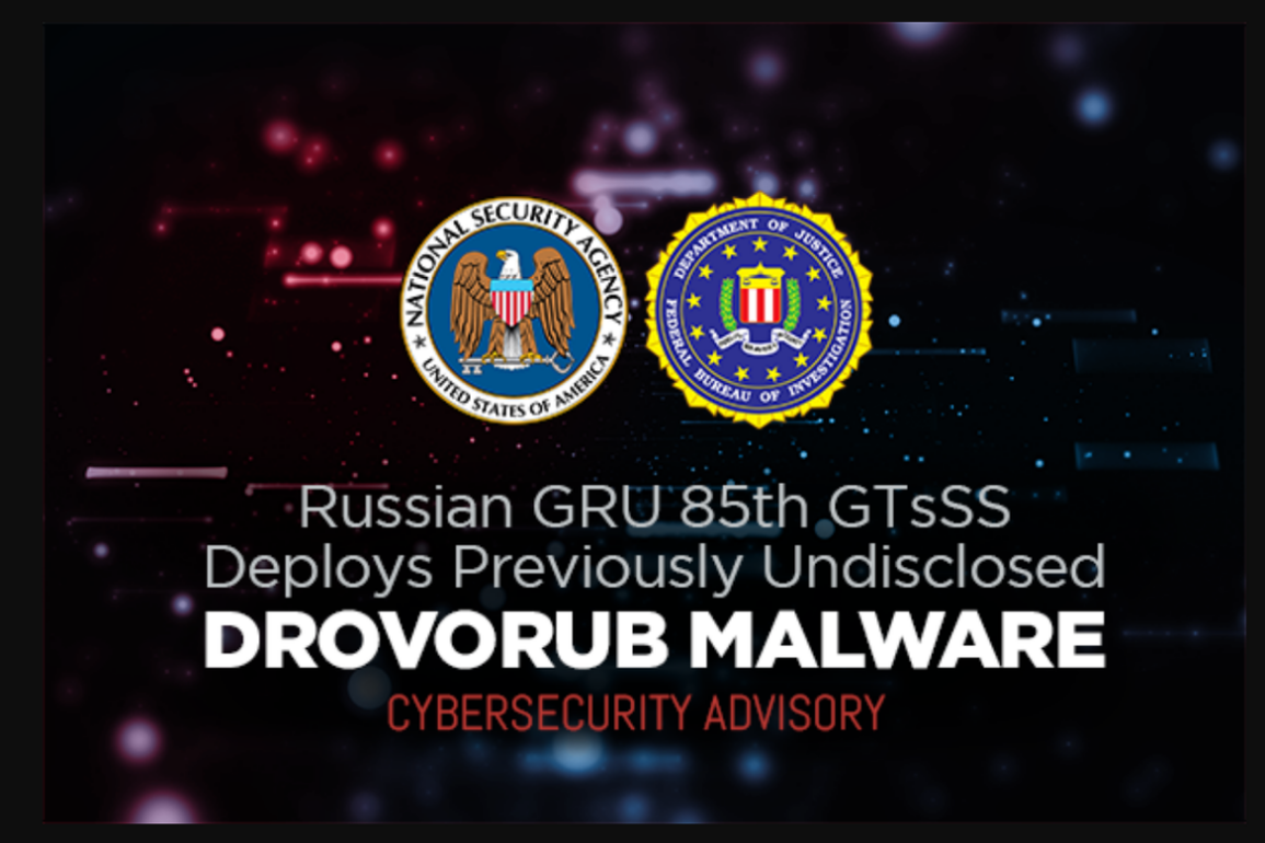 drovorub fbi nsa mcafee malware rootkit