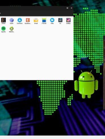 extix anbox gnu/linux ubuntu focal fossa android