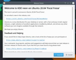 kde neon ubuntu 20.04