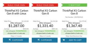 thinkpad x1 carbon linux lenovo fedora