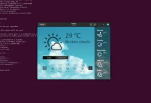 ubuntu weather