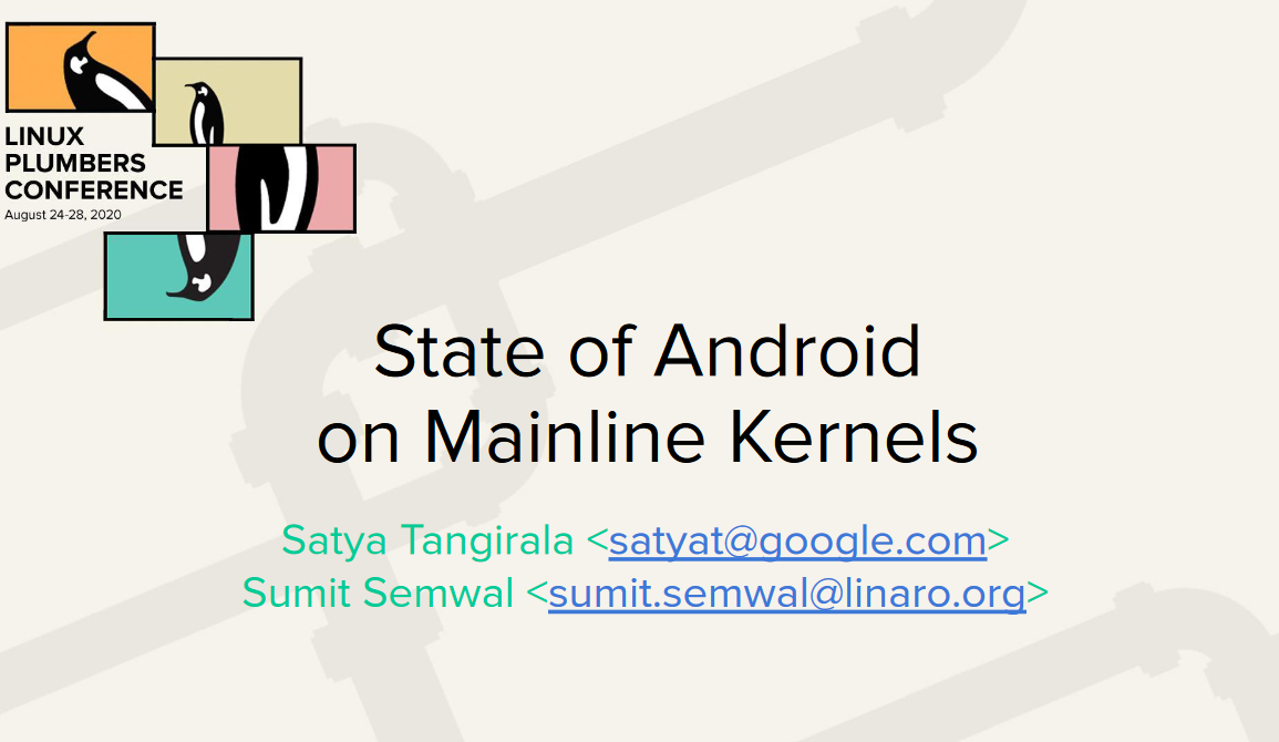 android linux aosp kernel