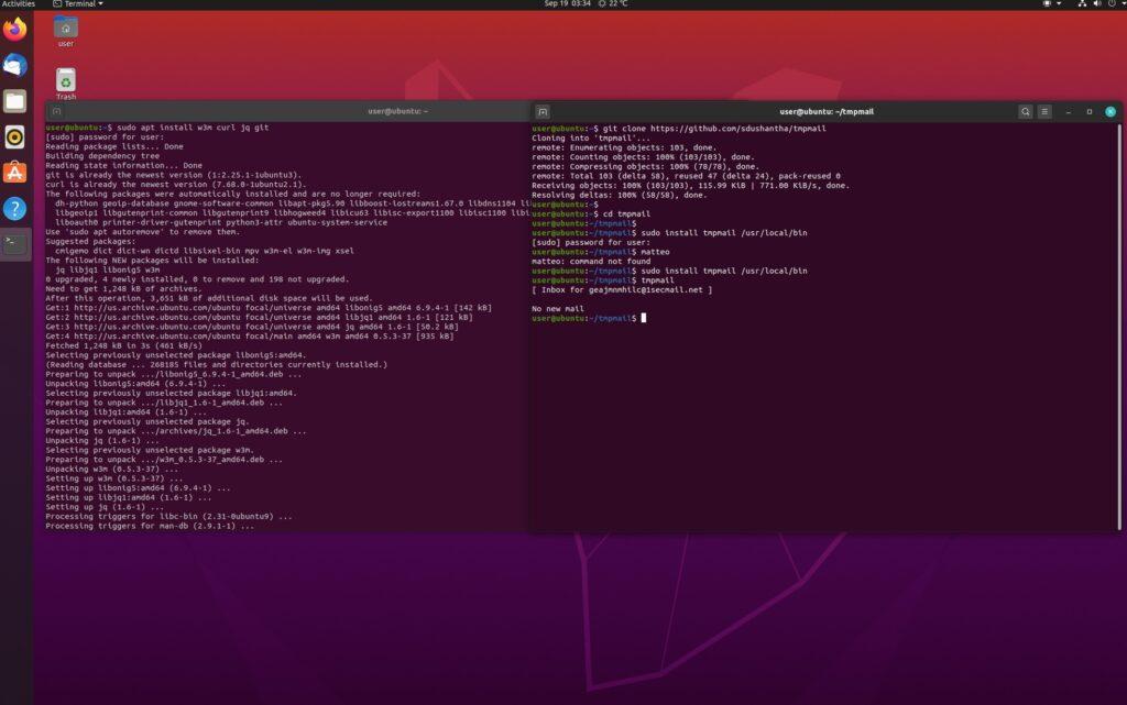 [GUIDA] Linux: creiamo una mail temporanea da terminale con tmpmail