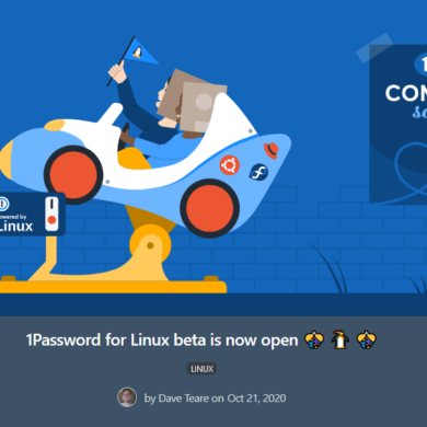 1password linux beta