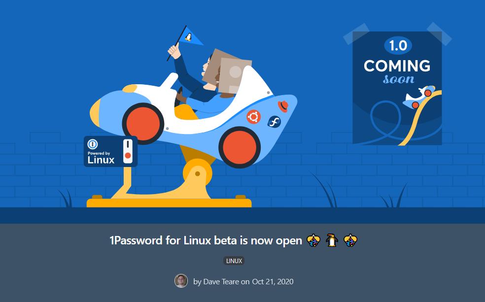 1password linux beta