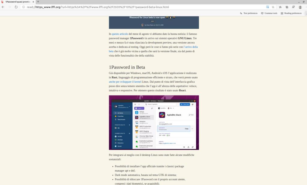 edge linux lettura immersiva