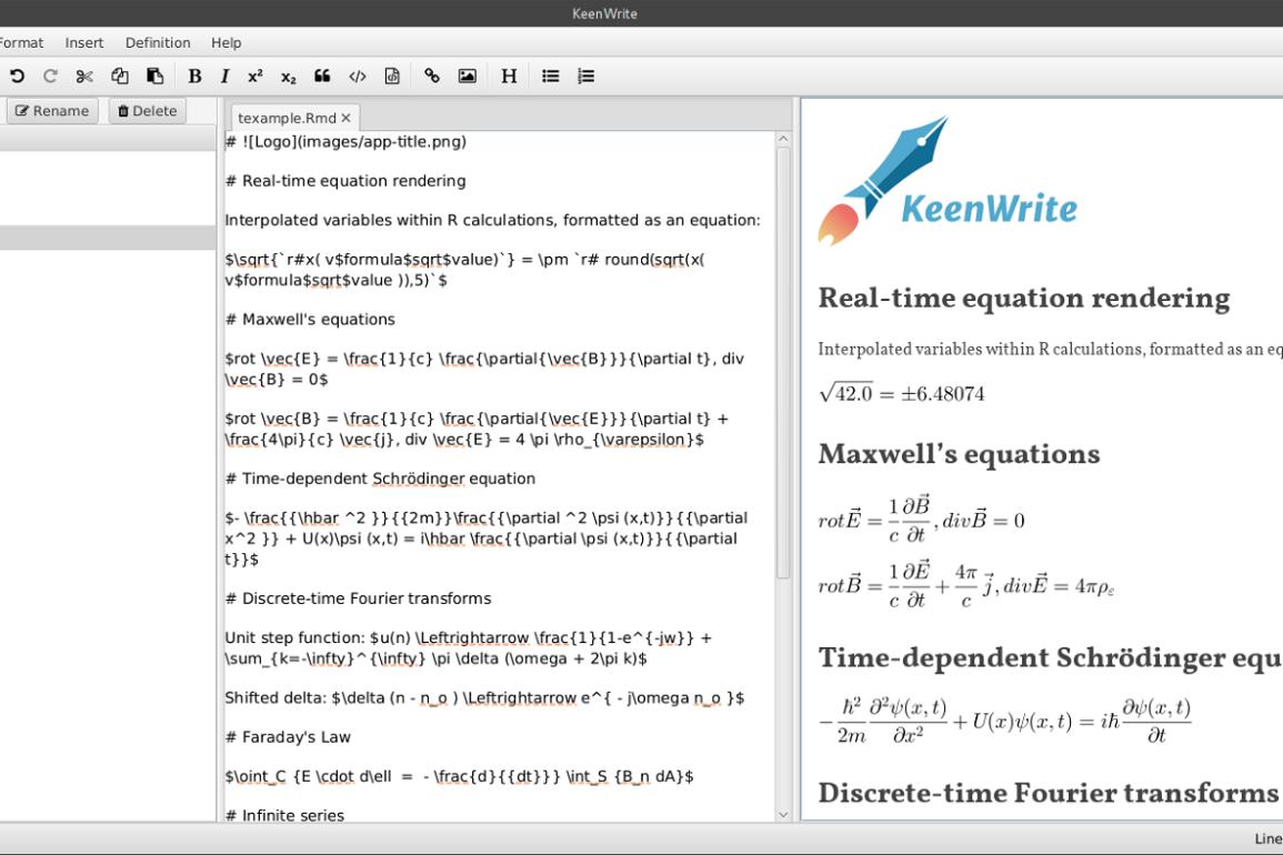 keenwrite open source R