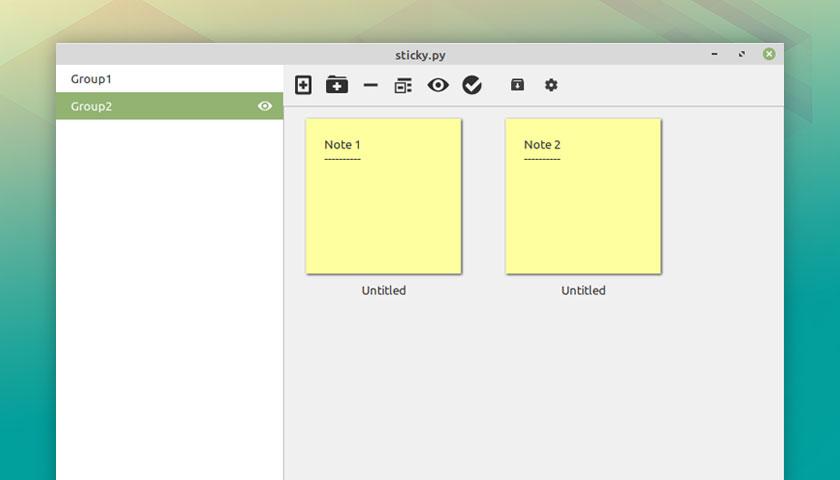 linux-mint 20.1 ulyssa sticky notes