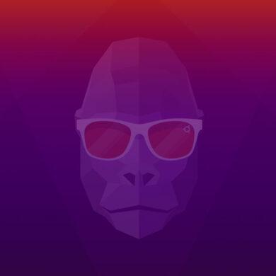 ubuntu 20.10 groovy gorilla wallpaper